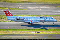 BOS.2008 # NW / 9E - CRJ200 N8896A - awp (CHR / AeroWorldpictures Team) Tags: northwest airlink pinnacle airlines canadair cl6002b19 regional jet crj200lr cn 7896 engines reg history aircraft construction test cfmnw montréal mirabel ymx canada delivered pinnacleairlines 9e flg opf northwestairlink nw nwa n8896a config cabin y50 tsfd endeavorair deltaconnect dl wfu std igm returned service 2004 2008 taxiways twy planes aircrafts planespotting boston airport bos kbos ma usa nikon d80 zoomlenses nikkor 70300vr lightroom lr5 awp