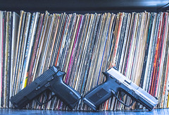 Two beauties (SBSTNC Photography) Tags: guns pistol fn fn9 fns9 9mm mixer mixingboard records