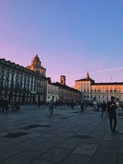 Home sweet home.🌈 (Stefano Pucci) Tags: citycenter underground city sunset violet colors colorful duomoditorino duomo square castle castello italia italy torino turin piazzacastello