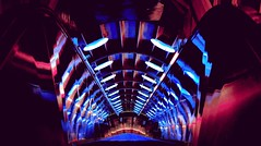 T.U.N.N.E.L. (ИicoW) Tags: red city color street travel blue geometry night light europe urban architecture cityscape lights building brussels colors shadows loneliness colorful belgium symmetry stairway atomium nightlights photooftheday hell rabbithole bruxelles symmetrical devil weirdshit lepetitvoyeursubmissions symmetryart machinery belgique repent visitbrussels satanic demon geometric lucifer citylights welovebrussels bruxellesmabelle symmetrykillers symmetricalmonsters lines patterns