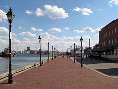 Broadway Pier (Multielvi) Tags: baltimore maryland md city fells point broadway pier