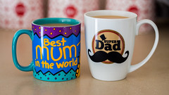 How lucky are our kids? (smjbk) Tags: mumanddad coffeecup cupoftea cuppa bestmum superdad mum dad cup coffee parents mug
