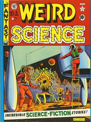 "Front cover of Volume 2. ""The Complete Weird Science"" published by Russ Cochran, (1978). Four hardcover volumes.  1st ed. (lhboudreau) Tags: comiccover comicbookcover comicart coverart russcochran hardcover hardcovers bookcover bookcovers bookart 1978 completeweirdscience thecompleteweirdscience comicbook comicbooks comic comics colorcomics vintagecomic vintagecomics vintagecomicbook vintagecomicbooks colorcomic weirdscience eccomics 1950 feldstein alfeldstein aliens sciencefiction sciencefictionstories volume2 entertainingcomics ec comicbookmagazine artwork illustration spaceship frontcover"
