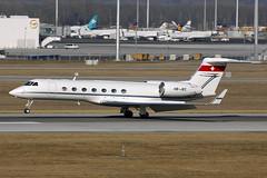 HB-JKC Gulfstream G550 Munich 16/02/2017 (Tu154Dave) Tags: grumman gulfstream g550 munich muc germany hbjkc airport aircraft business corporate