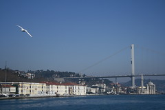 15 July Martyrs Bridge (kutzz) Tags: istanbul turkey bosforus sofia ayasofya sultanahmet bluemosque minaret mullah bosphorus goldenhorn fatih galata karakoy kadykoy besctash sisli qızqalası maidentower koska burek simit