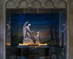 Maundy Thursday V - Christ Accepts the Chalice of Salvation (Lawrence OP) Tags: maundy thursday triduum elizabethannseton nationalshrine angel sculpture chalice agony gethsemane passion jesuschrist mosaic