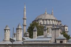 2016/07/31 10h02 mosquée (Tavuk Pazari Sk.) (Valéry Hugotte) Tags: istanbul tavukpazari turquie mosquée toit tr