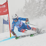 April 14th, 2017 - Diego Holscher of Chile takes second place in the U16 Mackenzie Investments Whistler Cup Mens GS. - Photo By Scott Brammer - coastphoto.com