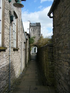 Kendal, Cumbria - back alley - Tanners Yard