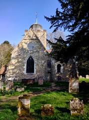 Albury Old Parish Church (pg tips2) Tags: albury alburypark aliburyoldparish alburychurch surreychurch getsurrey