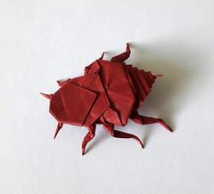 Bed bug (orig4mi.) Tags: bedbug origami paper folding percevejo