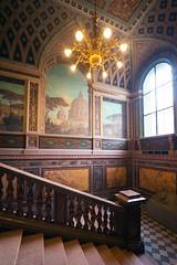 Stieglitz State Academy interior (TorySevas) Tags: interiors baroque architecture staircase design the saint petersburg stieglitz state academy art beautiful window ceiling red wall