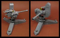 Original kept with changes (Karf Oohlu) Tags: lego moc machinegun gun weapon remoteweponsystem dualpurposegun