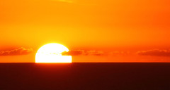 When the Sun goes down............... (robin denton) Tags: sunset sun sunsets antigua carribean caribe leewardislands sea