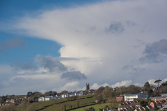 West Alvington (tramsteer) Tags: tramsteer westcountry westalvington church clouds weather southhams southdevon montereypine explore 10linheyclose cumulonimbus cloud