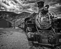 Silverton Train b&w (bsurma) Tags: bsurma americana bw train bill surma colorado billsurma