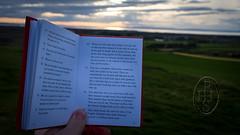 Bibliomancy On The Ramparts (2) (PHH Sykes) Tags: bibliomancy liber al vel legis book law aleister crowley