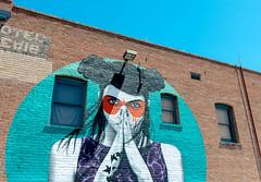 Hotel Lewis Mural (katiemparker) Tags: tucson arizona mural streetart painting color urban