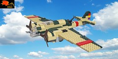 Tupolev SB-2 Spain (Eínon) Tags: spanish civil war lego bomber second world soviet union urss