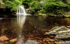 Cauldron Falls (oxfordwight) Tags: yorkshire dales cauldron falls waterfall water long exposure lee nd grad 10 stop