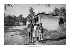 Anse à Pitres Haiti - Portrait (Vincent Karcher) Tags: anseàpitres haiti vincentkarcherphotography art beauty blackandwhite culture documentary human noiretblanc people portrait project reportage rue street travel voyage world kid child children island