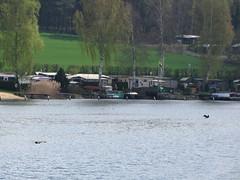 Kleiner Rußweiher - the area, where you are allowed to swim (elisabeth.mcghee) Tags: preservation area eschenbach oberpfalz kleiner rusweiher upper palatinate
