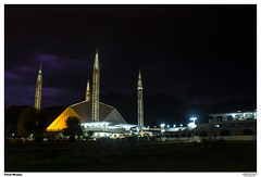 Faisal Mosque (eemoboo) Tags: faisal mosque islamabad shah architecture national unique large
