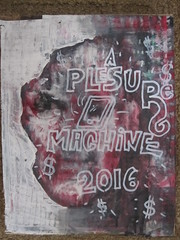 pleasure machines (ARTtwentyseventeen) Tags: oil marker brush cardboard luan metal gnar shit fuck cars weed pizza money phones beautiful mysterious tits artist graffiti recycled found assemblage collage mixed media acrylic rustolelum krylon enamels consumerism waste america hip hop worldstar bling ice booty lean activis rust weathered gold letters lettering mural sign painted