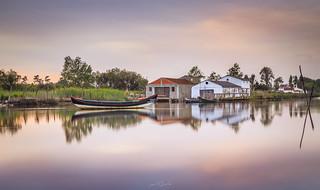 The Boat house, Ria de Aveiro