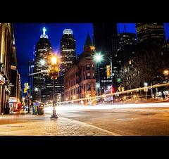 (Mark Somerville.) Tags: toronto historical 35l canon light trails burlington mark somerville 5d mkii nighttime downtown jarvis