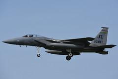 81-0039/JZ McDonnell Douglas F-15C Eagle USAF @ Leeuwarden airbase 31-Mar-2017 by Johan Hetebrij (Balloony Dutchman) Tags: 810039 cn 783 c222 f15 eagle mcdonnell douglas f15c usaf exercise frisianflag 2017 leeuwarden airbase 81039 jz