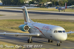 DSC_9848Pwm (T.O. Images) Tags: pztfa fly all ways fokker 70 sxm st maarten princess juliana airport insel air