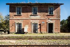 Old Train Station (MrPalmeras!) Tags: barbagia sardegna sardinia samyang24mmf35tsedasumc ilce7r