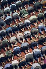 Kneel (Trent's Pics) Tags: istiqlalmosque devout indonesia islam istiqlal jakarta kneel koran muslim prayer quran