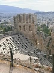 Athens (2012) (alexismarija) Tags: athens greece odeonofherodesatticus theatre ancient ruins architecture history greekhistory greekarchitecture tour athenstour