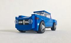 Lego Alfa Romeo Giulia Saloon - 04 (jonathanelliott2) Tags: lego car vehicle alfa romeo alfaromeo giulia speedchampions