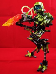 SP-4-M (Monarth the Contrarian) Tags: lego bionicle moc robot flamethrower spam