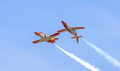 Patrulla Águila (Boushh_TFA) Tags: patrulla águila casa c101 aviohet spanish air force ejército del aire international marrakech show 2016 marrakesh menara airport morocco rak gmmx nikon d600 nikkor 300mm f28 vrii