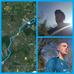 Was für ein mieser Tag. Marathon in Hannover, ich mit Startnummer und Shirt, aber darf nicht mit. Egal. Mit dem Shirt feuerte ich dafür alle Läufer/-innen vom Rand an. Nach langer Laufpause ging es heute Nachmittag mit dem Rad zum Altwarmbüchener See. Dor