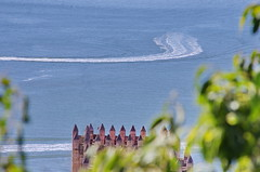Lisbonne - 265 - Miradouro do Castelo de São Jorge, Sé de Lisboa (paspog) Tags: lisbonne lisbon lisboa portugal miradouro miradourodocastelodesão toits roofs decken cathédrale cathedra katedral kathedral sédelisboa