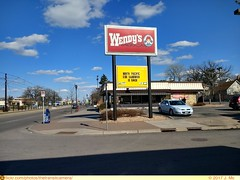 Wendys (Saint Paul, MN) (TheTransitCamera) Tags: wendys fast food chain dining hamburger burger