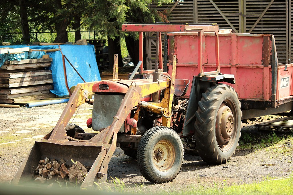 Massey Ferguson 65 Tractor With Loader : The world s best photos of massey and mf flickr hive mind