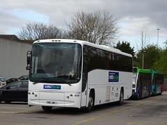 Notts&Derby 64 Derby (Guy Arab UF) Tags: nottsderby 64 yrc181 volvo b12m plaxton paragon coach meadow road depot derby derbyshire wellglade buses wellgladegroup tm travel 1201 yn08nkw