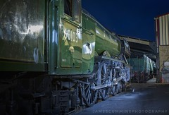 The Legend At Rest (70C Photography) Tags: flyingscotsman 60103 4472 railways bluebellrailway trains night canon7d 28135m jamescummins shed sheffieldpark a3 britishrailways uk sussex 2017 outdoor nationalrailwaymuseum icon heritage omot