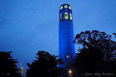 Coit Tower - 041517 - 03 (Stan-the-Rocker) Tags: stantherocker sony ilce sanfrancisco coittower telegraphhill northbeach sel1855