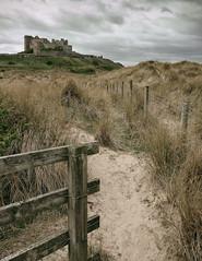 Path to Bamburgh Castle(2) (S.R.Murphy) Tags: april2017 bamburgh bamburghbeach bamburghcastle fuji1855mm landscape sea fujifilmxt2 seascape fujifilmxf1855mm stuartmurphy flickrexplore24042017
