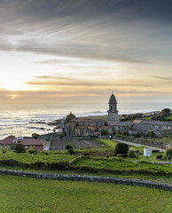 Santa Maria de Oia (Carlos_Silva1) Tags: atlantic atlanticsea atlantico galicia landscape mar monasterio monasteriodeoia mosteiro mosteirodeoia nikon ocaso oia olas oya paisaje panoramic panoramica puestadesol santamariadeoia santamariadeoya sunset waves