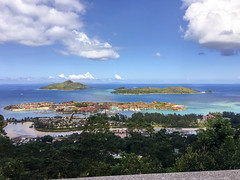 Eden Island (malc1702) Tags: edenisland island islands seychelles mahe travel travelphotography vacation holiday iphonecamera iphonephotography iphone6splus iphone nature clouds sky bluesky ocean forest marina yatch beauty beautiful