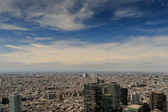 Density (Atomic Eye) Tags: tokyo japan metropolitangovernmentbuilding urban city cityscape urbanphotography skies clouds buildings tōkyōtochō shinjuku observationdecks architecture
