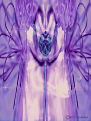 Guarded (CaBAsk! on and off. Thank U for the visit ♥) Tags: abstract art angels souple wings olympus digital manipulation photoshop crystal love heart alien norway expression imagination